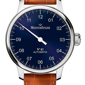 Montre Meistersinger N°3 cadran Bleu