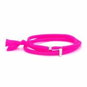 Bracelet GRESY'S Sunny 1 diamant, argent rhodié Rose