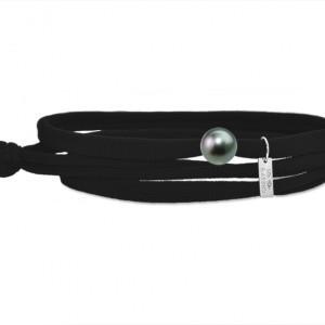 Bracelet Gresy's Ma Perle Tahiti, Noir