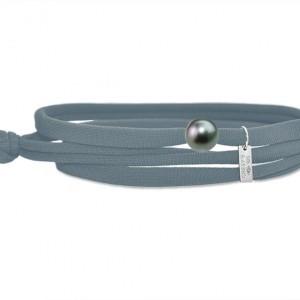 Bracelet Gresy's Ma Perle Tahiti, Gris Anthracite