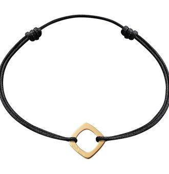 Bracelet Dinh Van Impression sur cordon Petit modèle, Or Jaune