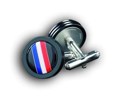Bouton de Manchette B.R.M Drapeau France